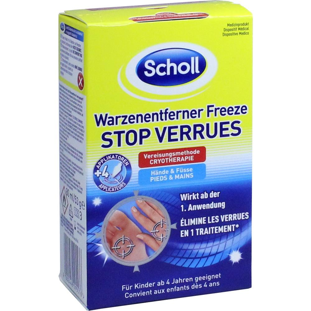 10627645, Scholl Warzenentferner Freeze, 80 ML