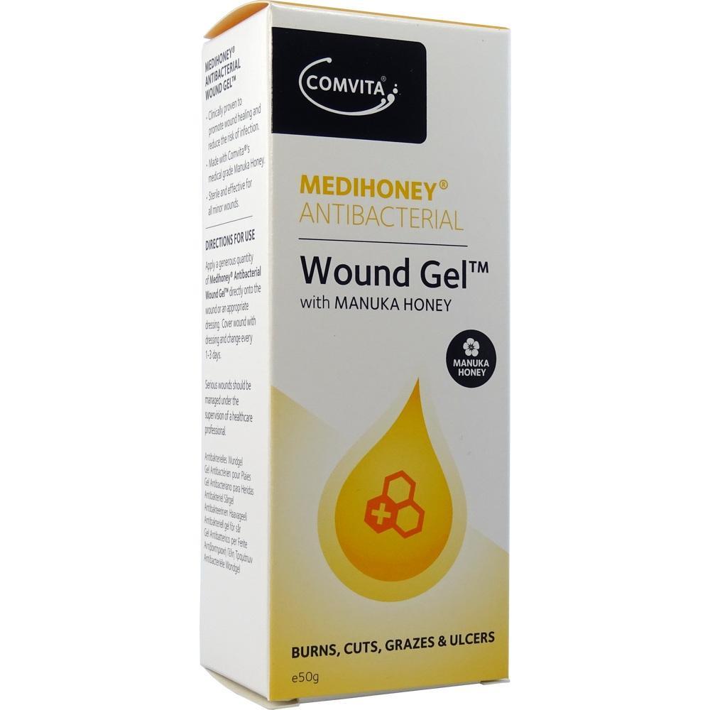 10630067, Medihoney antibakterielles Wundgel Wundverband, 50 G