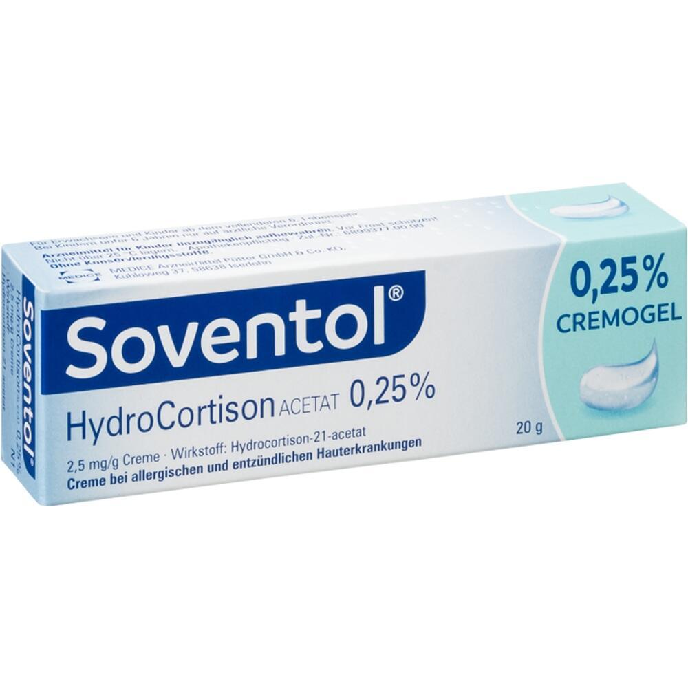 10714373, Soventol Hydrocortisonacetat 0.25%, 20 G