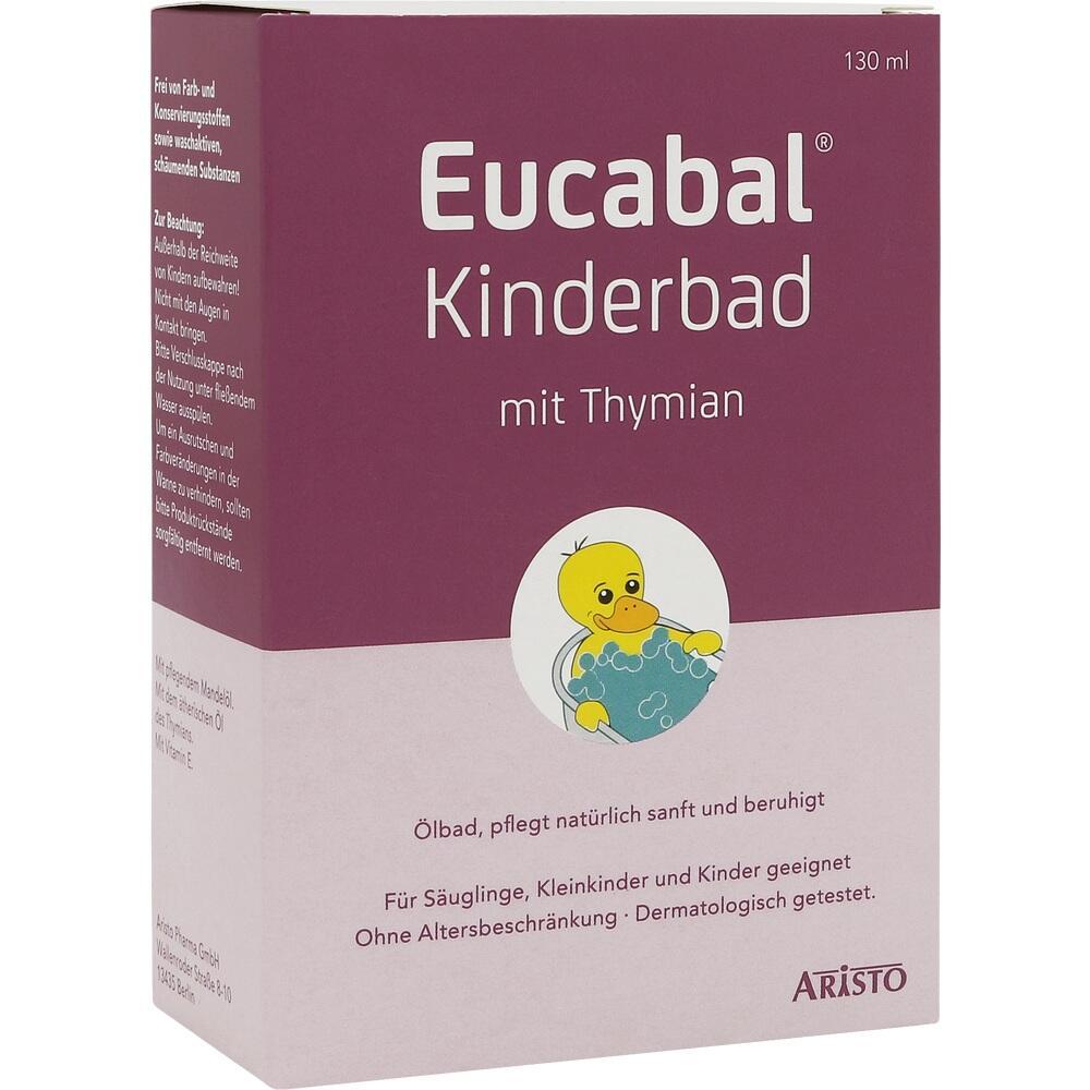 10738557, Eucabal Kinderbad mit Thymian, 130 ML