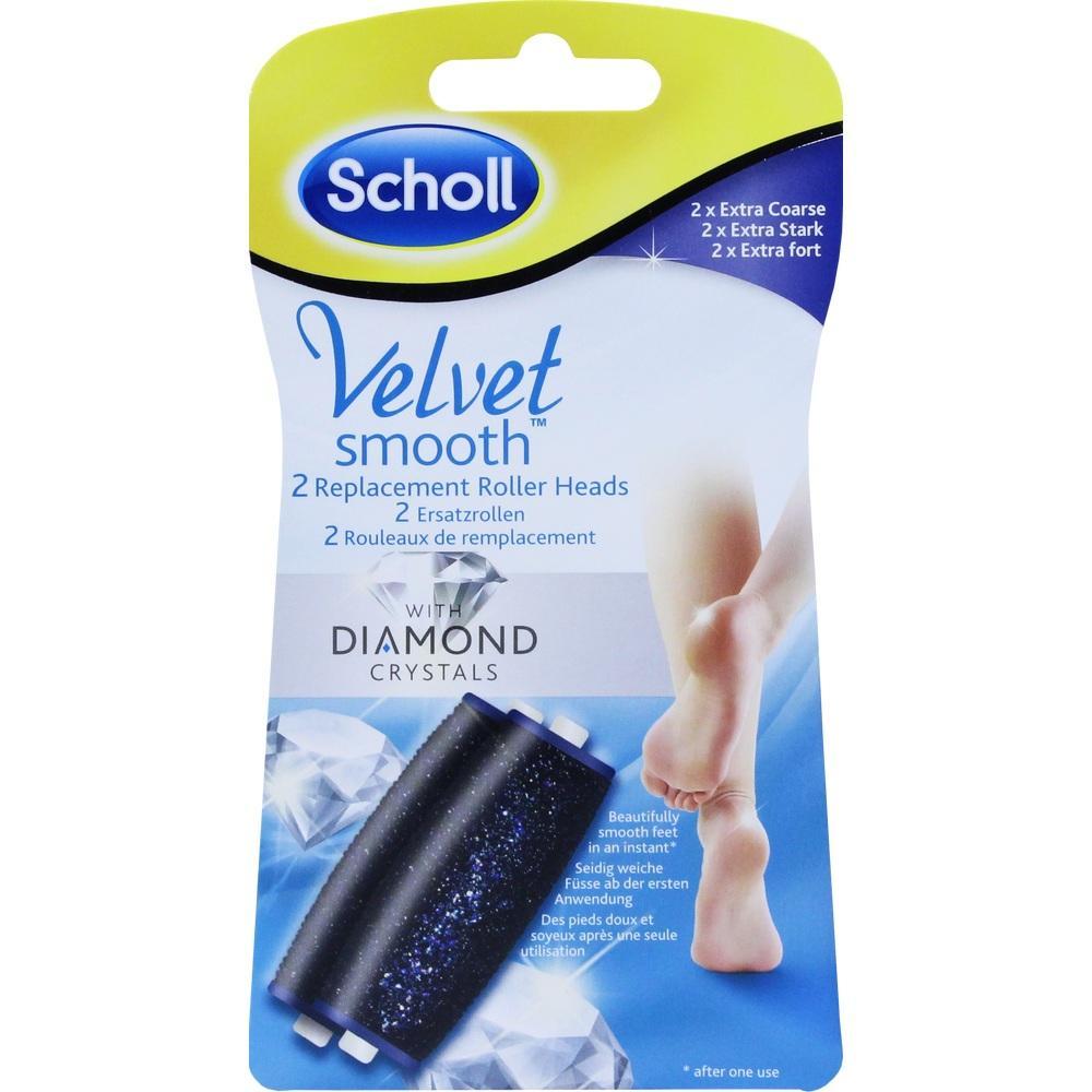 10749963, Scholl Velvet smooth Expr.Pedi Ersatzrol.Ext.Stark, 2 ST
