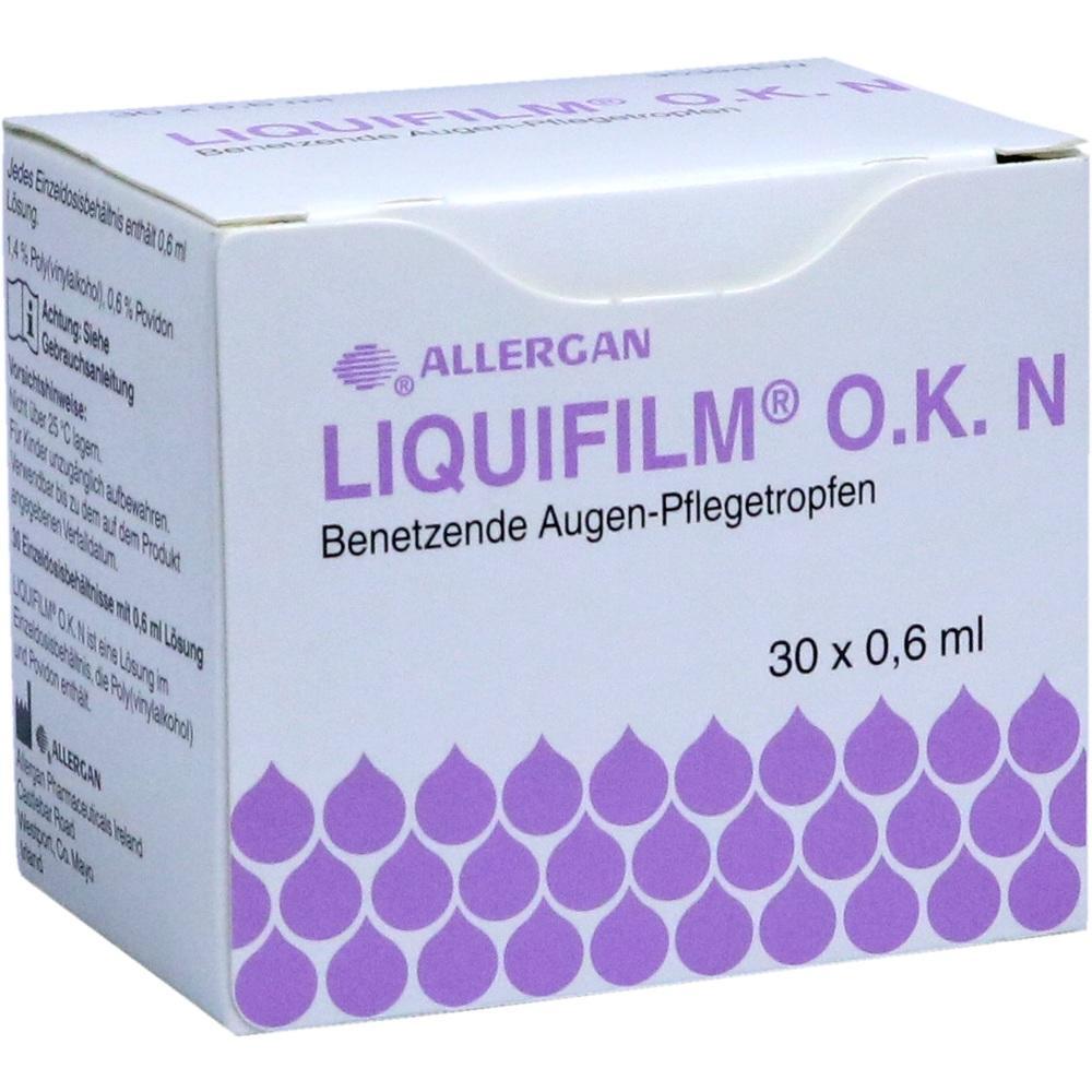 Allergan GmbH LIQUIFILM O.K. N Augentropfen 10754266