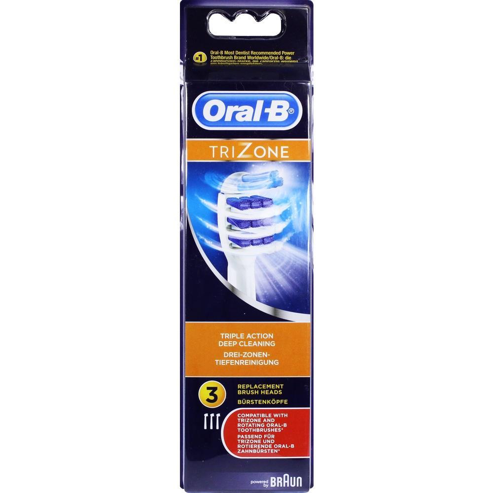 10763012, Oral-B TriZone Aufsteckbürsten 3er, 3 ST
