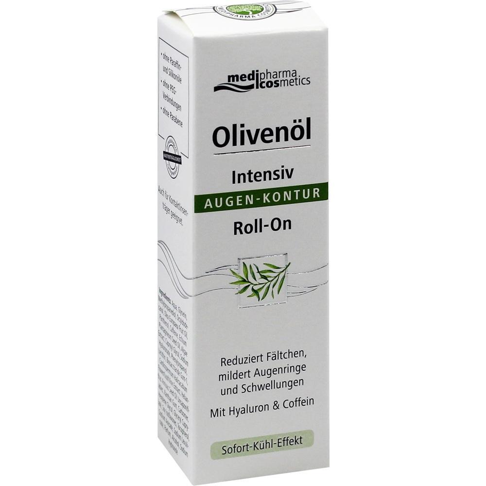 10810303, Olivenöl Intensiv Augen-Kontur Roll-On, 15 ML