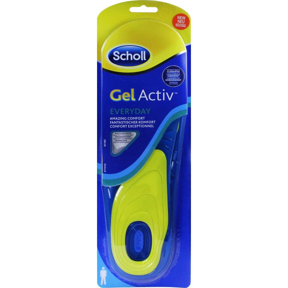 10820974, Scholl GelActiv Einlegesohle Everyday Men, 2 ST
