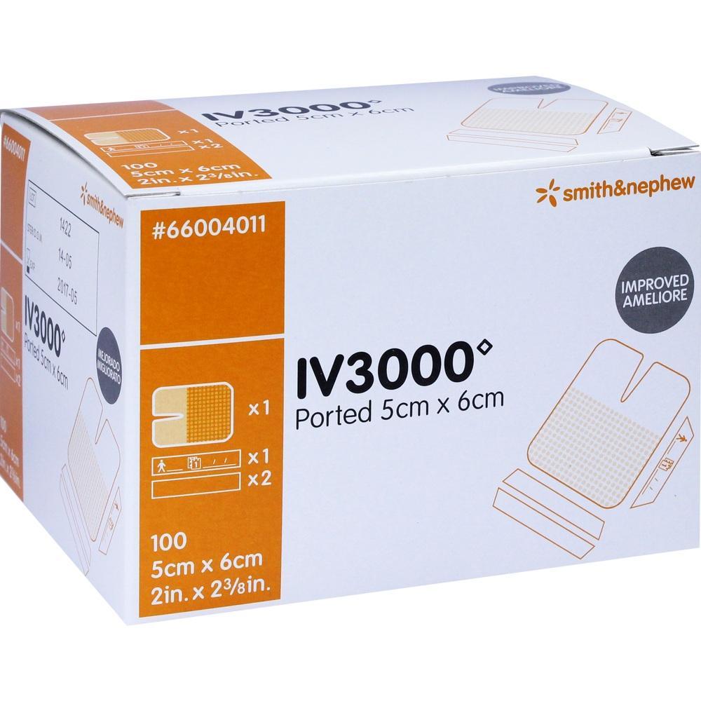 Opsite IV 3000 5x6 cm 1-Hand Verband