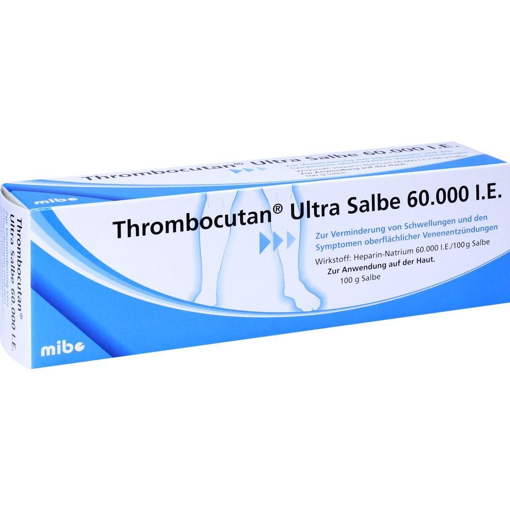 Thrombocutan Ultra Salbe 60.000 I.E.