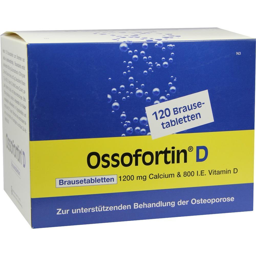 Ossofortin D Brausetabletten