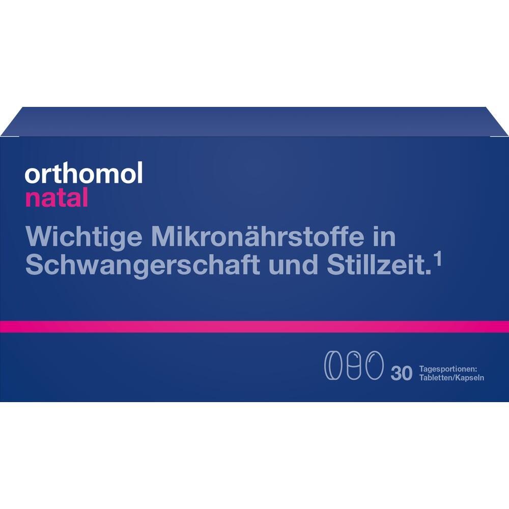 Orthomol Natal Tabletten/Kapseln Kombipackung