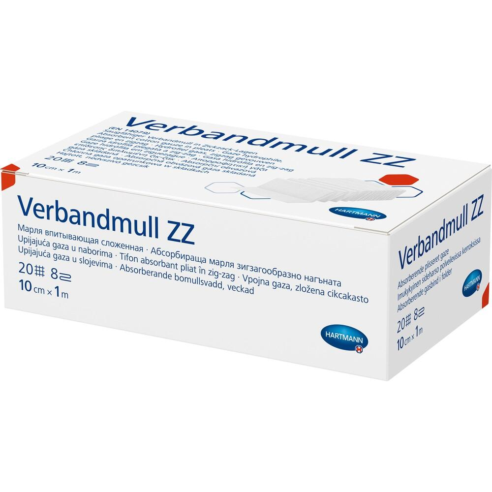 Verbandmull Hartmann 10 Cmx1 m Zickzack