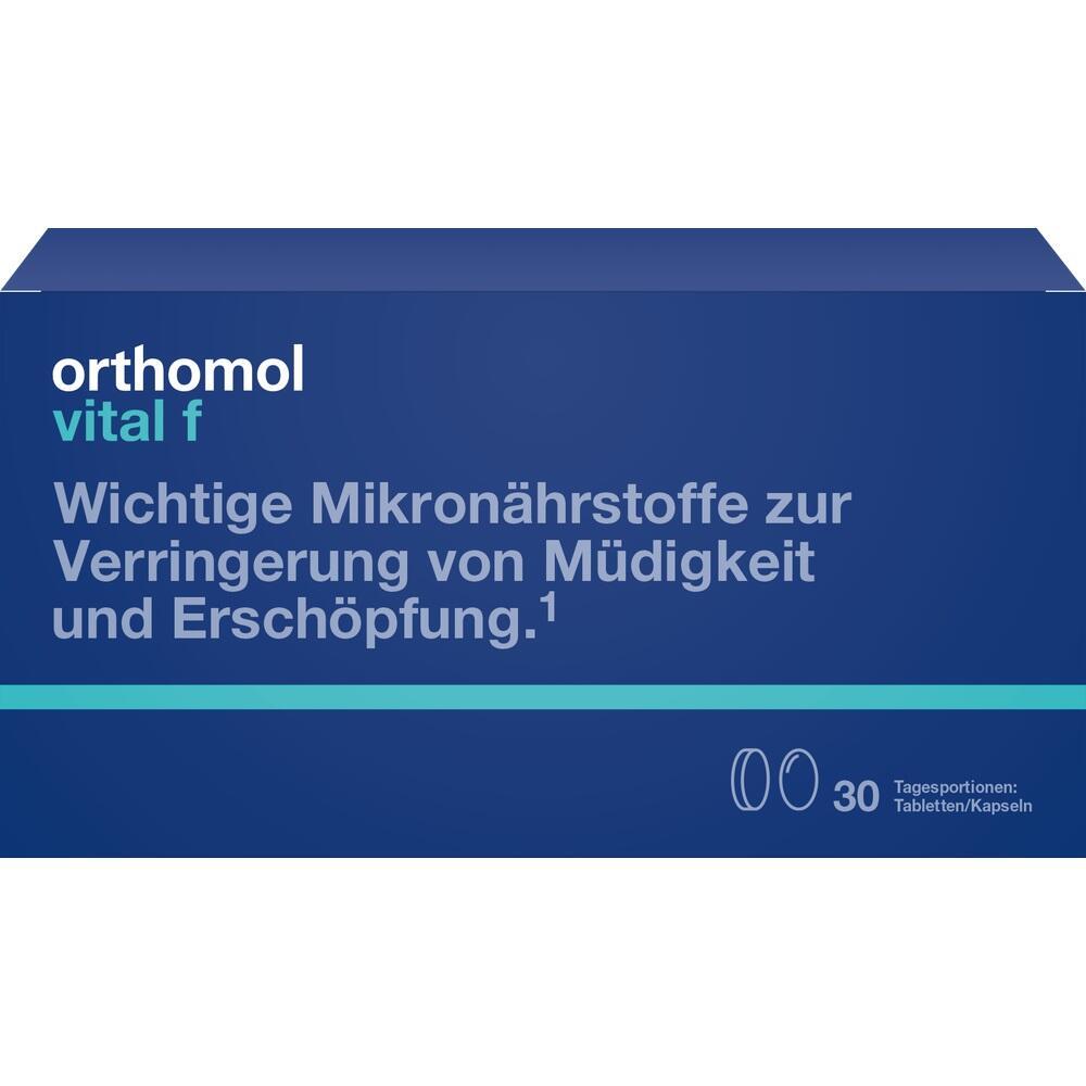 Orthomol Vital F 30 Tabletten/Kapseln Kombipackung
