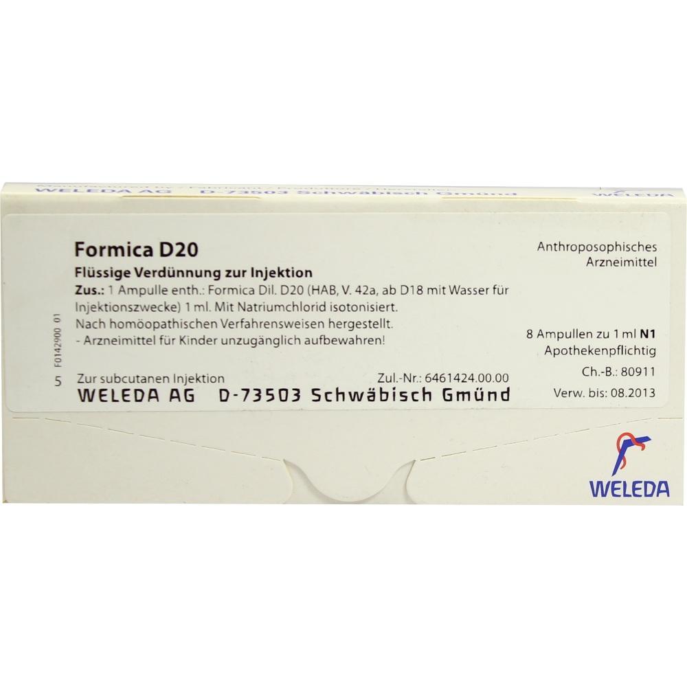 Formica D 20 Ampullen