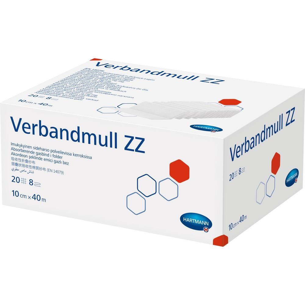 Verbandmull Hartmann 40 m Zickzack