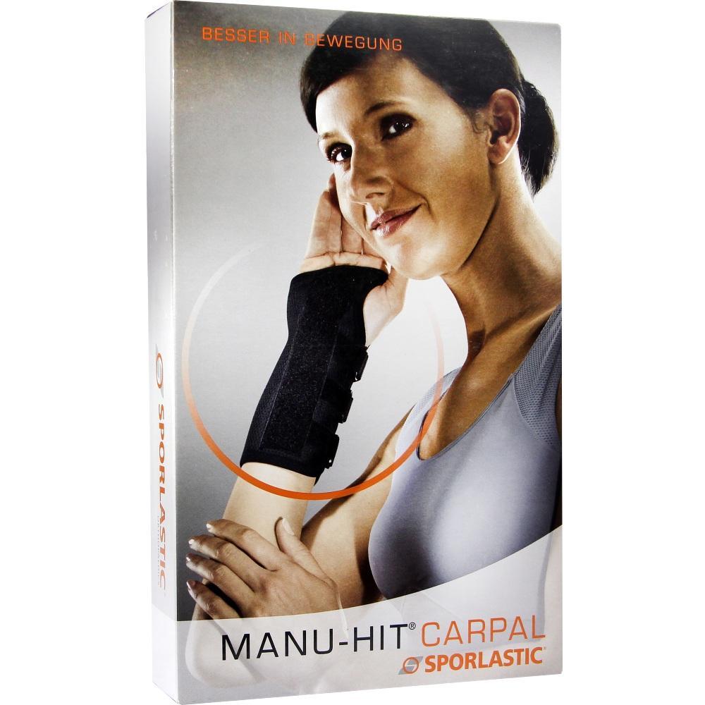 Manu-HIT Carpal Orthese Rechts Größe S Schwarz 07233