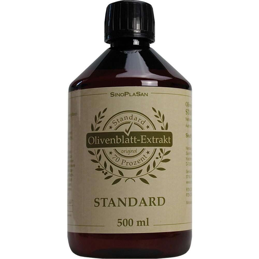 Olivenblatt-Extrakt Flüssig Sparflasche