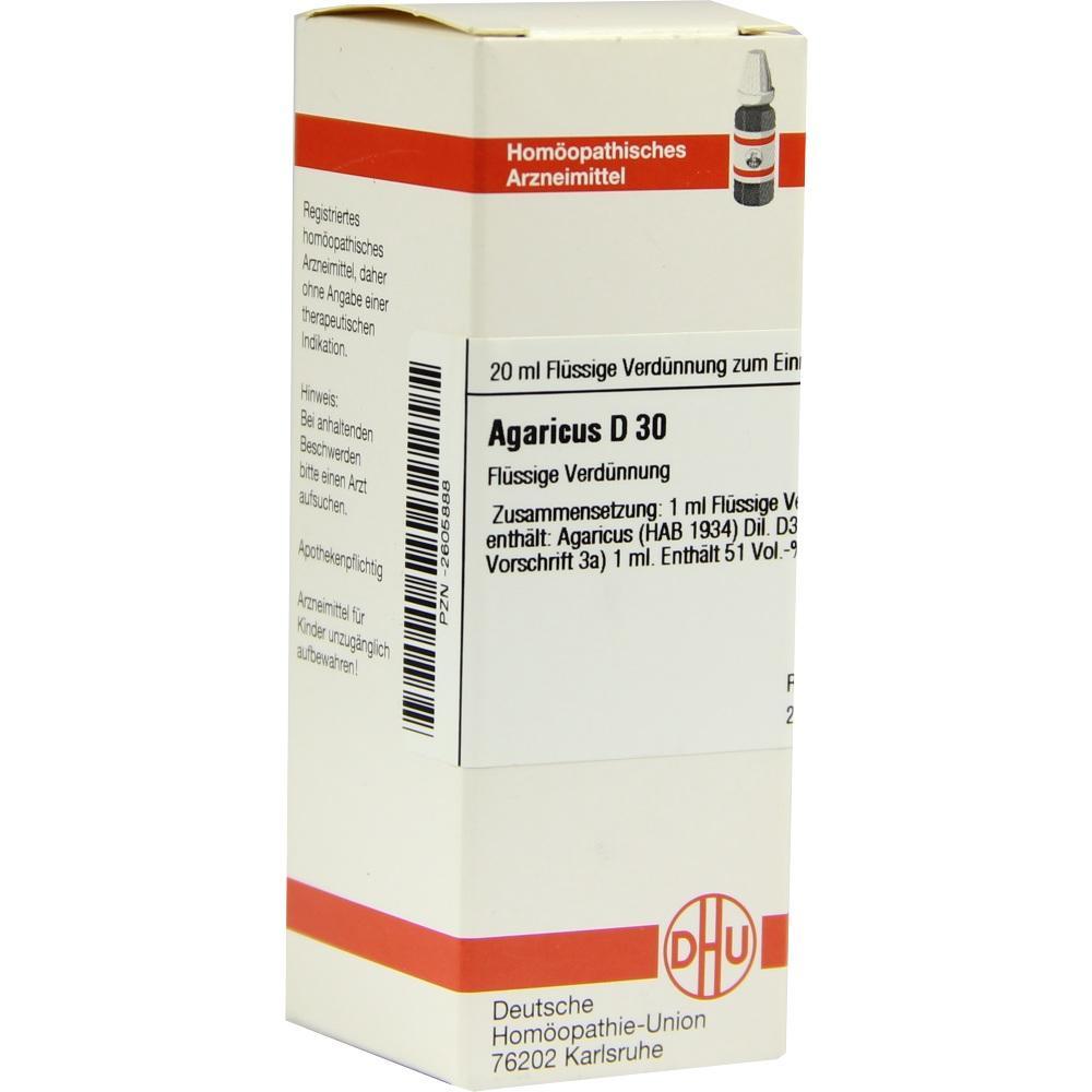 Agaricus D 30 Dilution