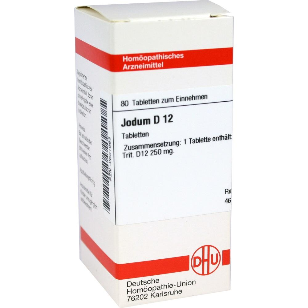 Jodum D 12 Tabletten