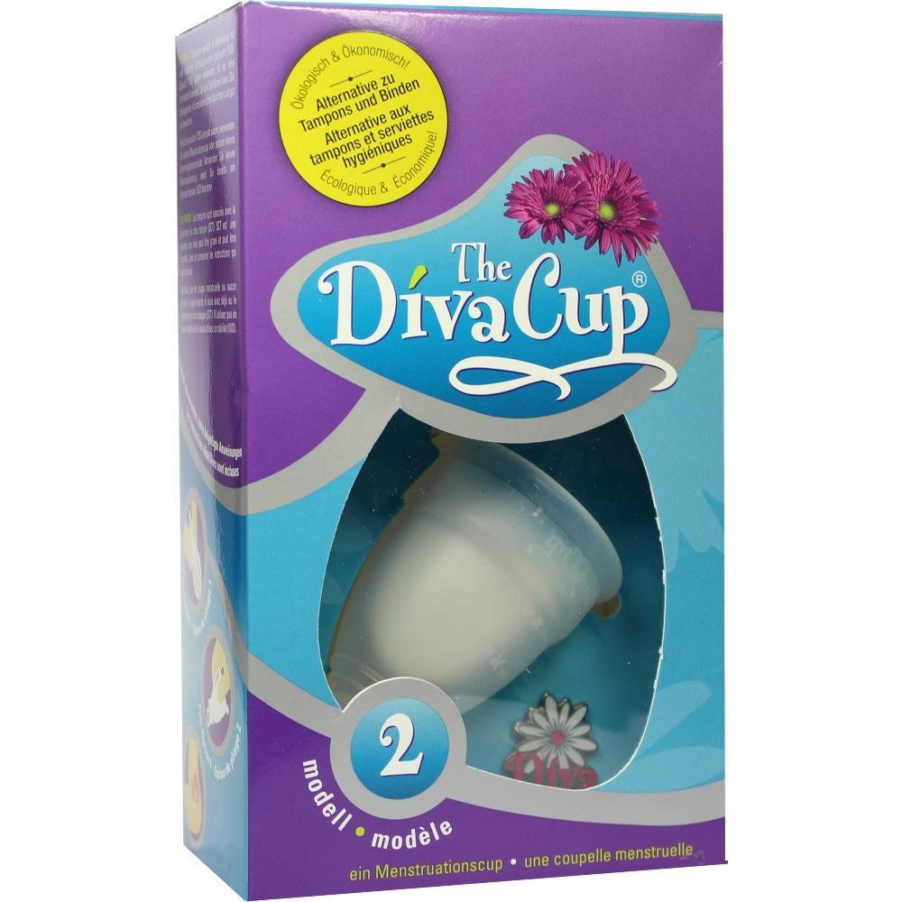Diva CUP Menstruations Kappe Größe 2