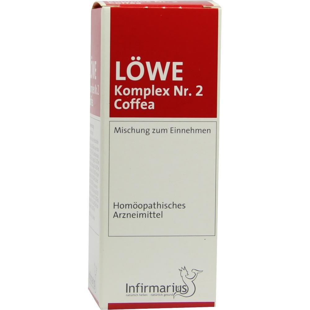 Löwe Komplex Nummer 2 Coffea Tropfen