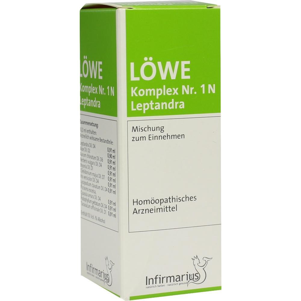 Löwe Komplex Nummer 1 N Leptandra Tropfen