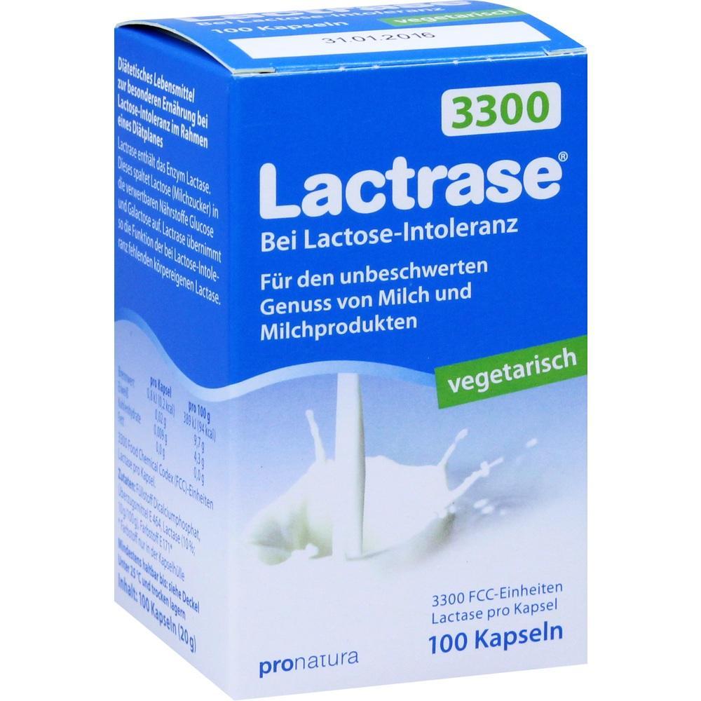 Lactrase Vegetarisch 3.300 Kapseln