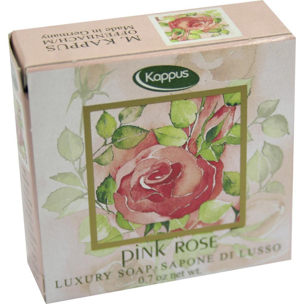 Kappus Pink Rose Gästeseife Warenprobe