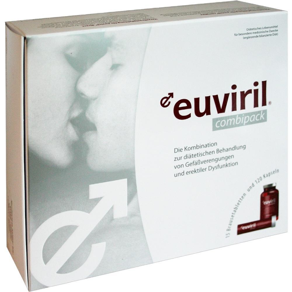 Euviril Combipack Kapseln+Brausetabl.