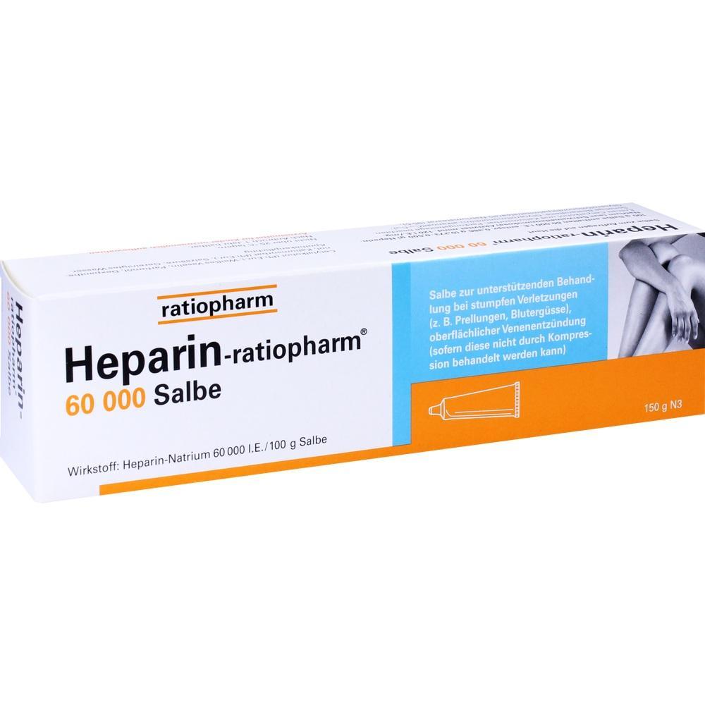 Heparin Ratiopharm 60.000 Salbe