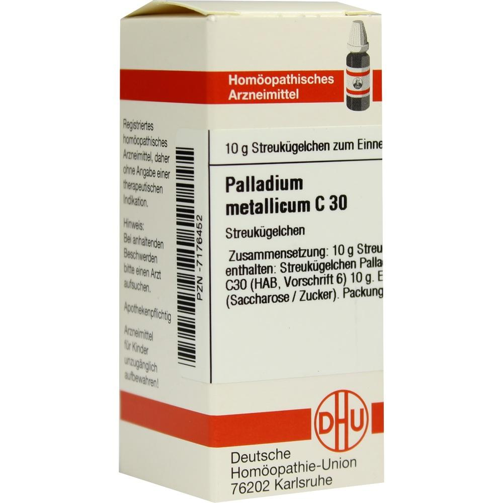 Palladium Metallicum C 30 Globuli
