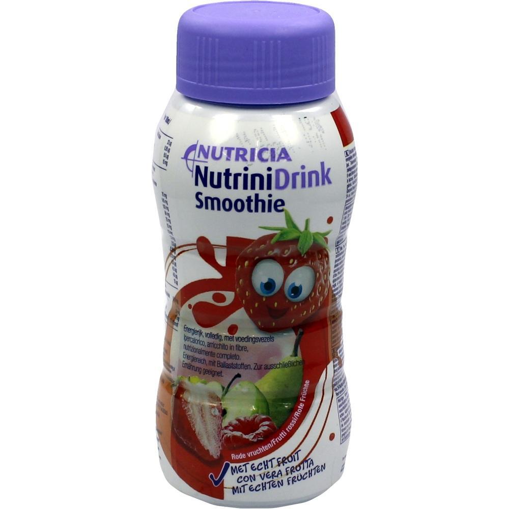 Nutrinidrink Smoothie Rote Früchte