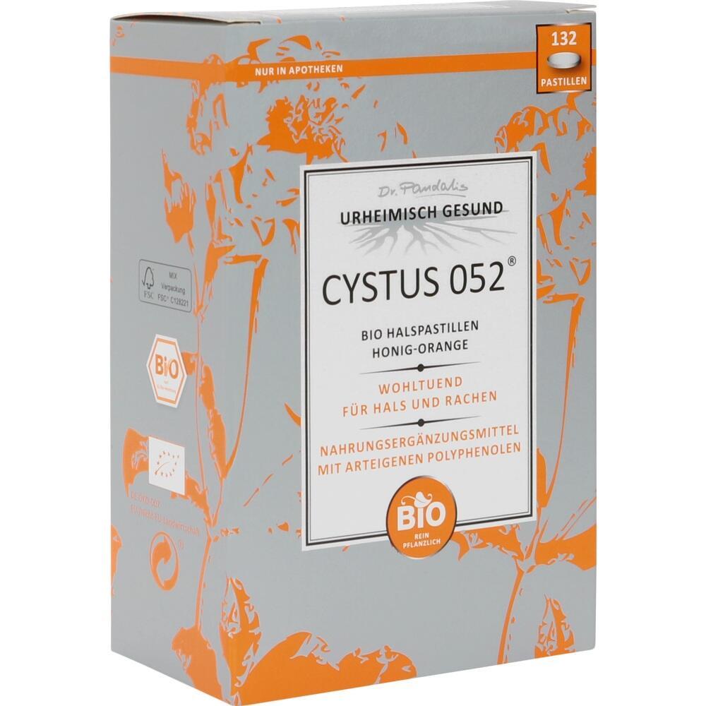 cystus 052 bio halspastillen honig orange 09531064 bonbons eurapon. Black Bedroom Furniture Sets. Home Design Ideas