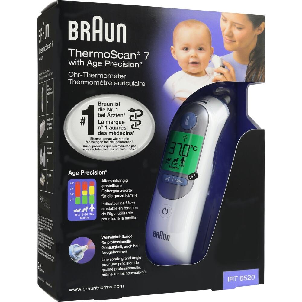 thermoscan 7 irt6520 ohrthermometer 10216818. Black Bedroom Furniture Sets. Home Design Ideas