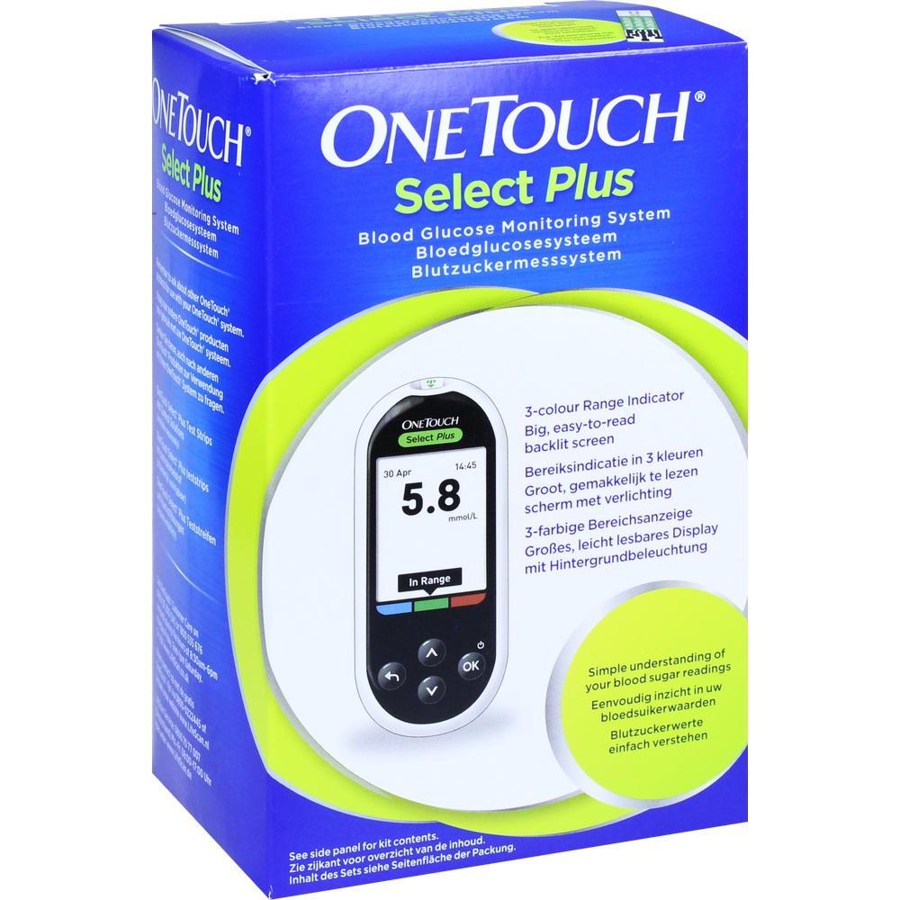 10963202, One Touch Select Plus Blutzuckermesssystem mmol/L, 1 ST