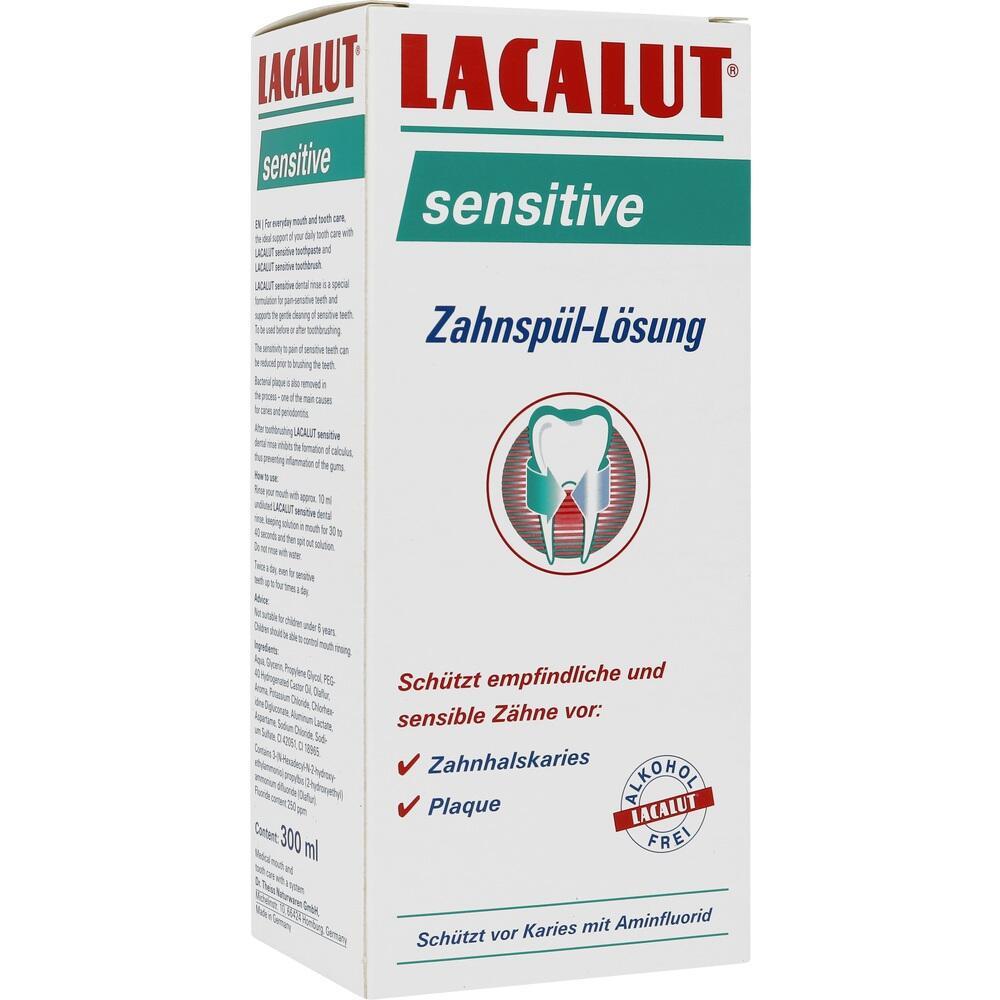 10991724, Lacalut sensitive Zahnspül-Lösung, 300 ML