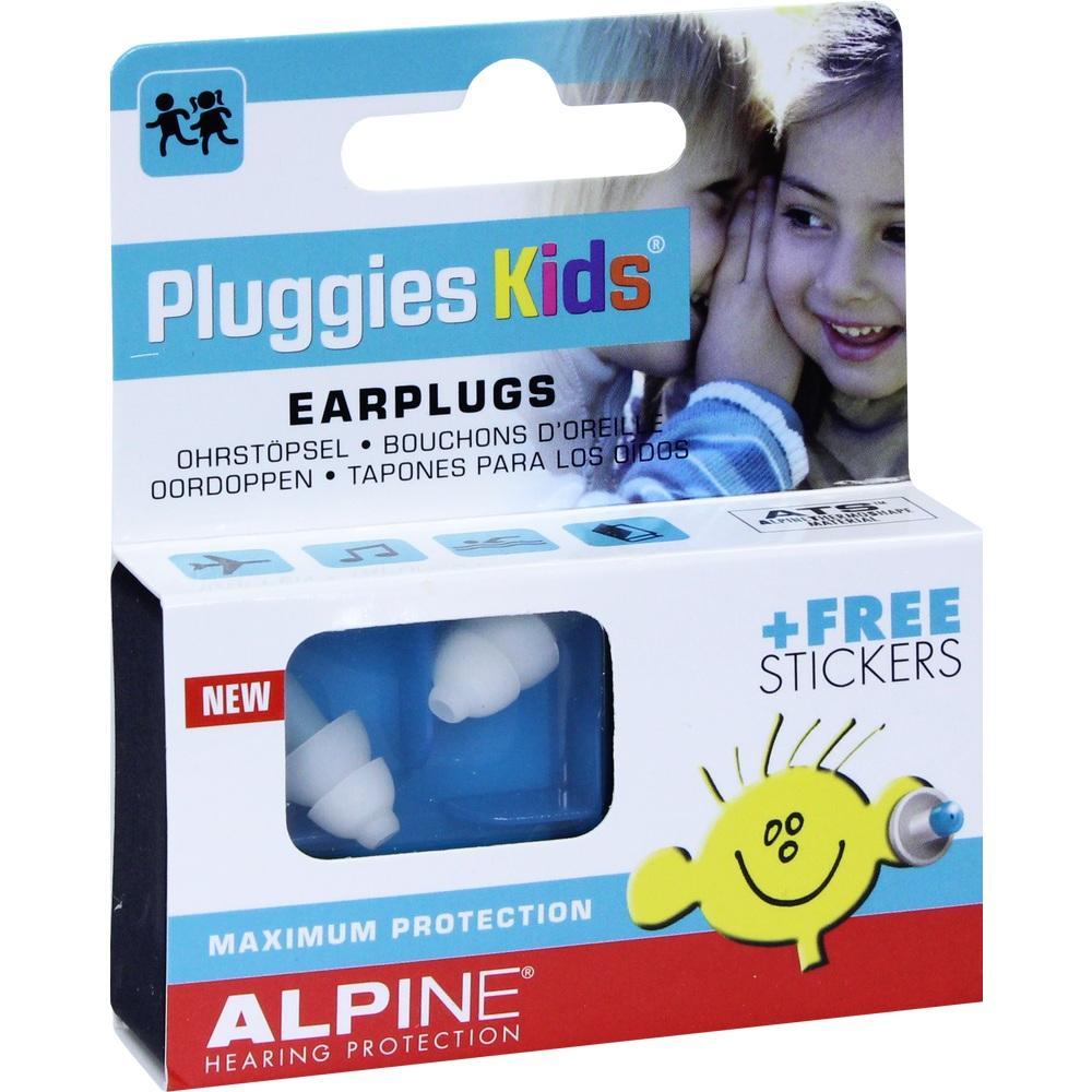 10992505, Alpine Pluggies Kids Ohrstöpsel, 2 ST