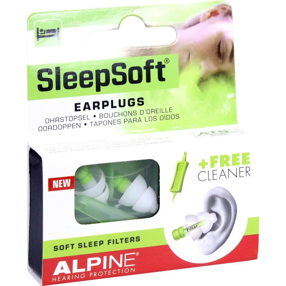 10992511, Alpine SleepSoft Ohrstöpsel, 2 ST