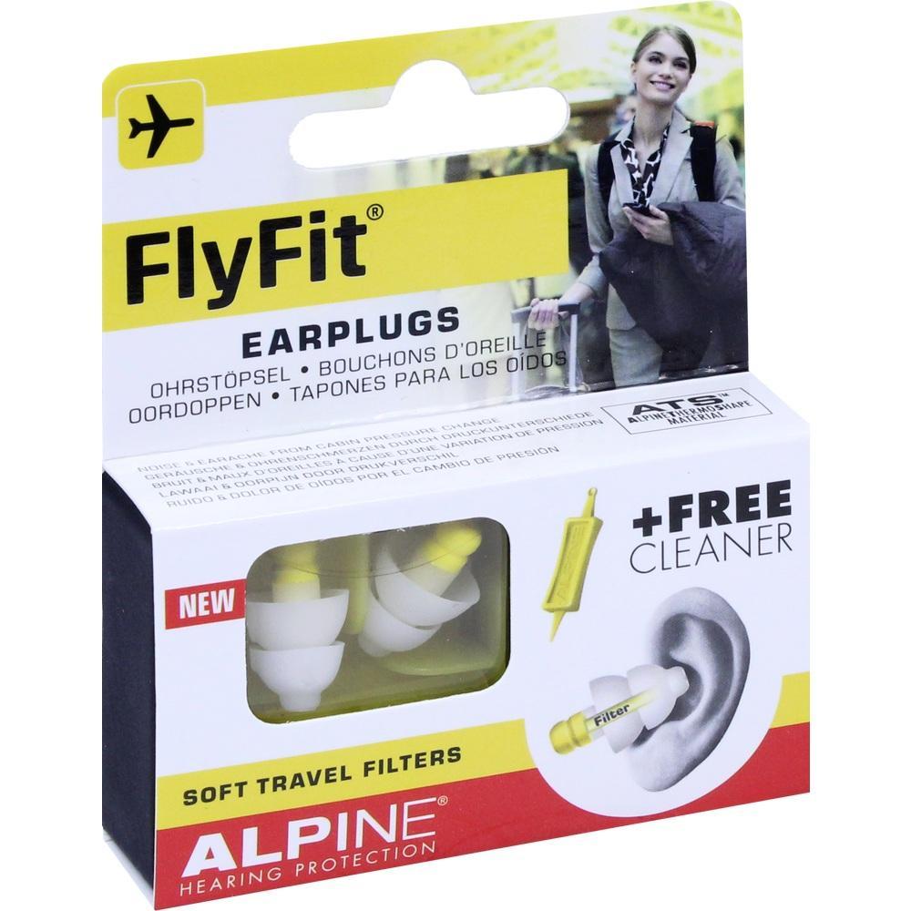 10992534, Alpine FlyFit Ohrstöpsel, 2 ST