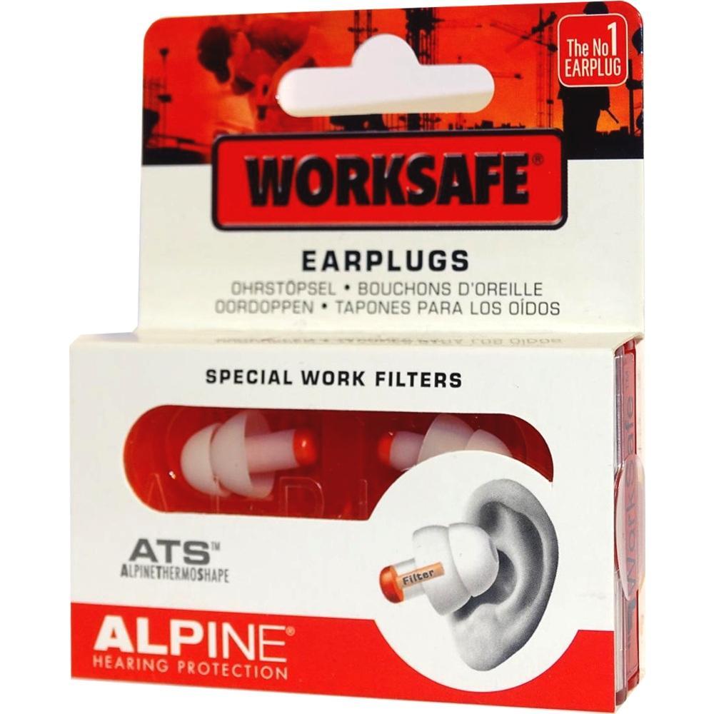 10992540, Alpine WorkSafe Ohrstöpsel, 2 ST