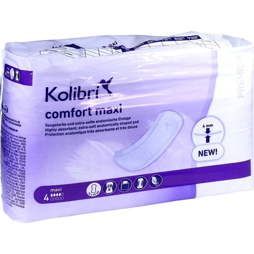 KOLIBRI comfort premium Einlagen anatomisch maxi
