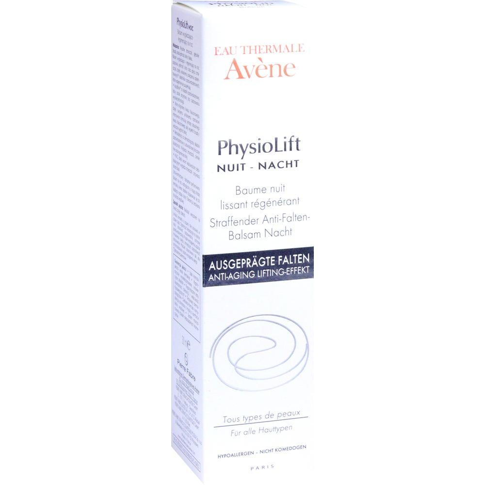 11080427, AVENE PhysioLift NACHT Straff. Anti-Falten-Balsam, 30 ML