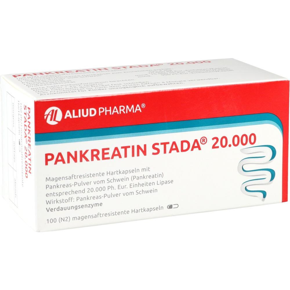 11101810, Pankreatin STADA 20000 ALIUD, 100 ST