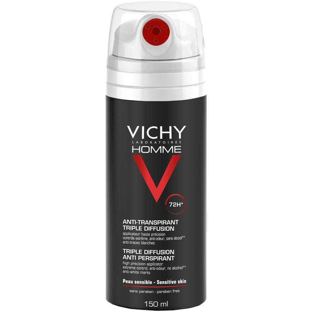 11102761, Vichy Homme Deo Spray 72h, 150 ML
