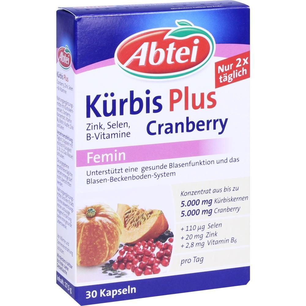 11111300, ABTEI Kürbis Plus Cranberry, 30 ST