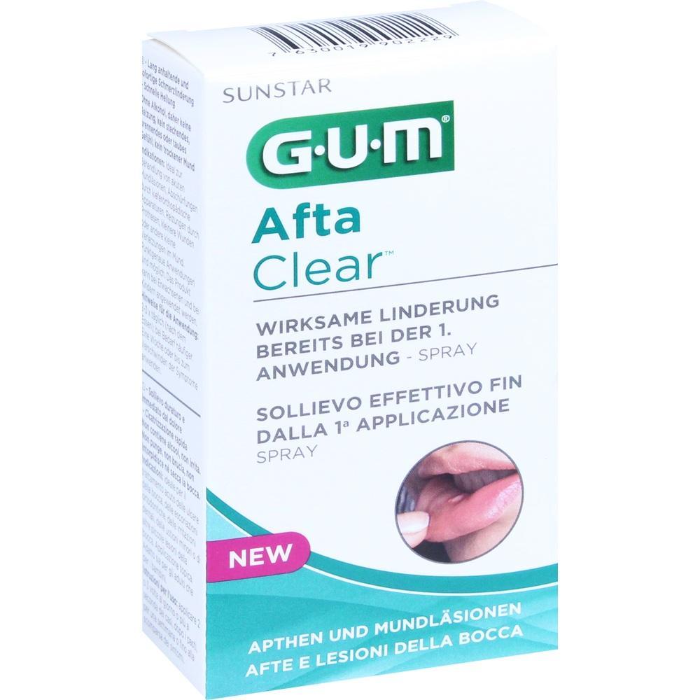 11140224, GUM Afta Clear Spray, 15 ML