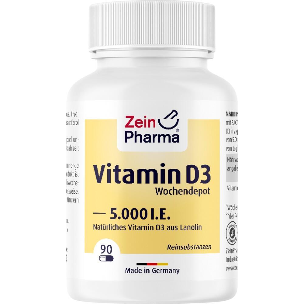 11161290, Vitamin D3 5000I.E. Wochendepot, 90 ST
