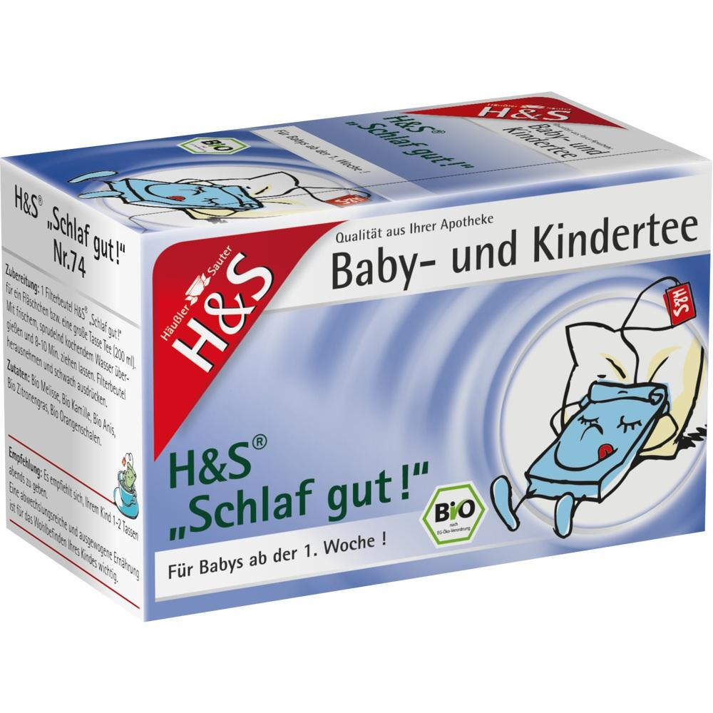 11213294, H&S Bio Schlaf gut Baby- und Kindertee, 20X1.0 G
