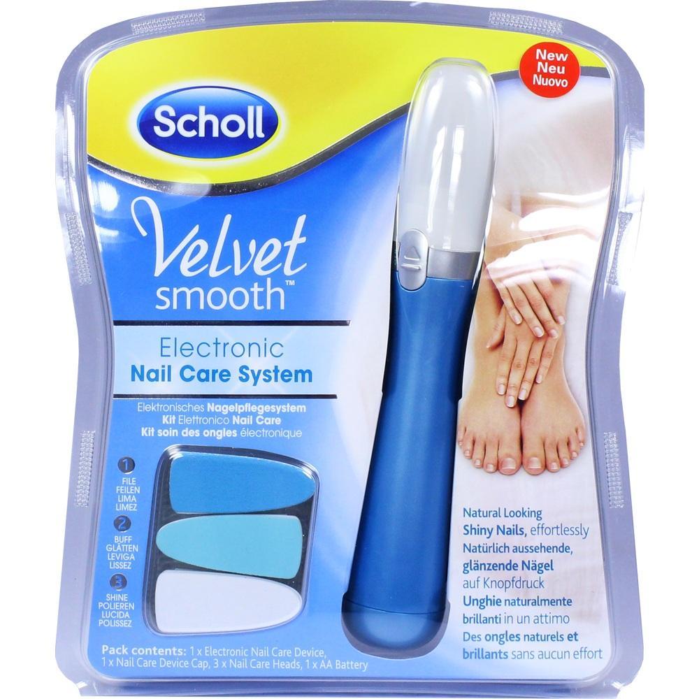 11257819, Scholl Velvet Smooth Elektr. Nagelpflegesystem, 1 ST