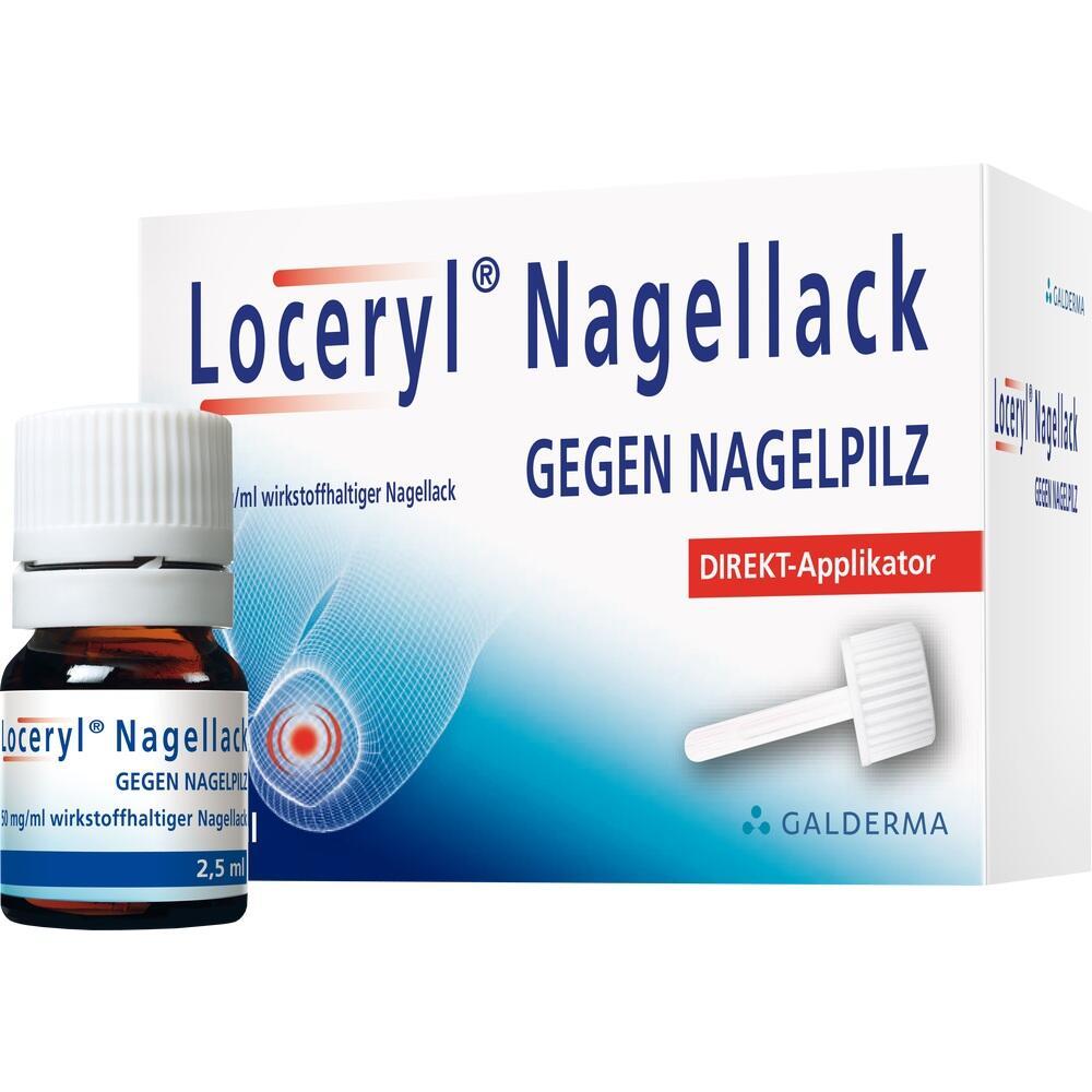 11286169, Loceryl Nagellack gegen Nagelpilz DIREKT-Applikat., 2.5 ML