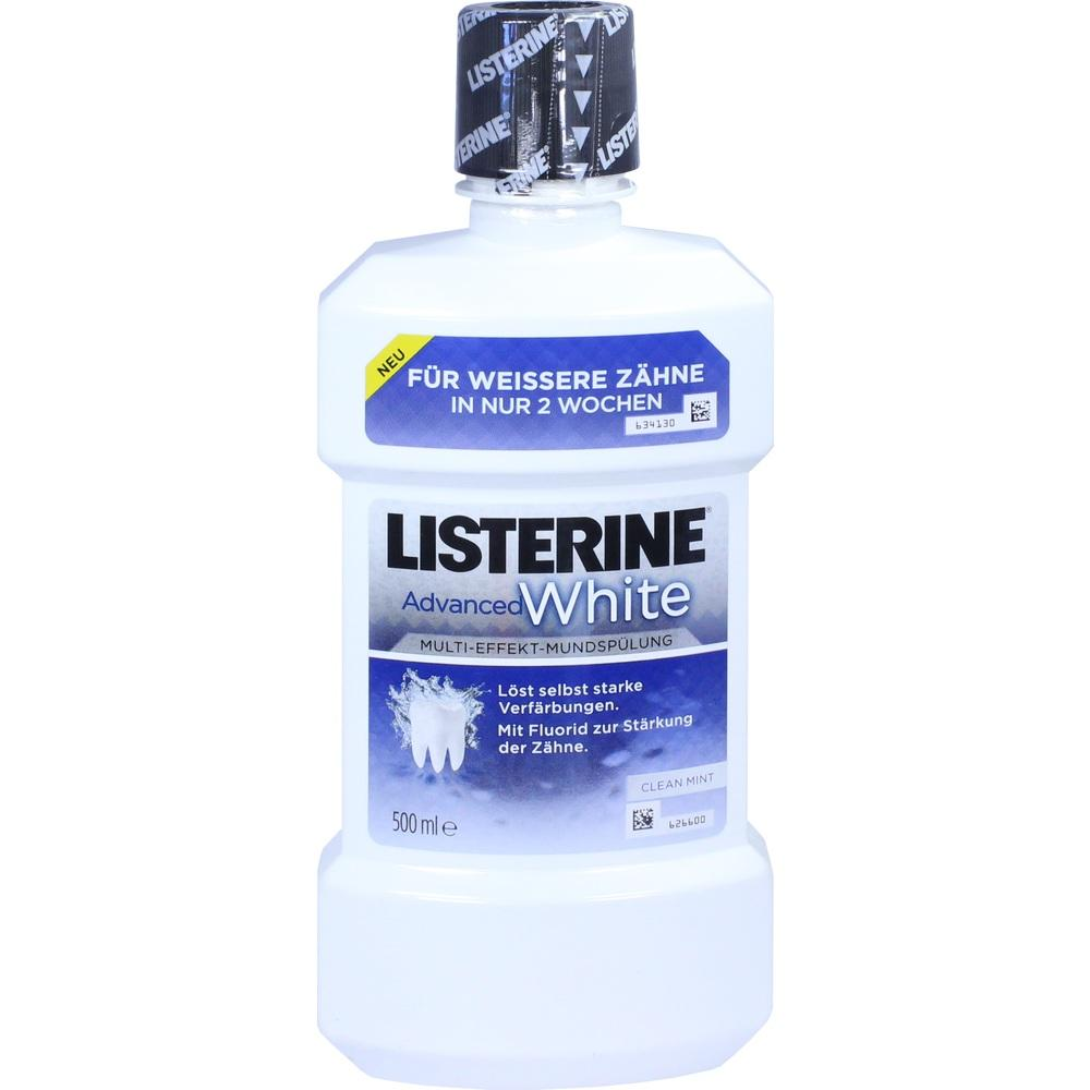 11330456, Listerine Advanced White, 500 ML