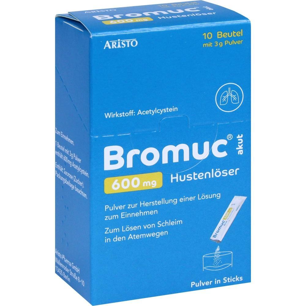 11353144, Bromuc akut 600mg Hustenlöser, 10 ST